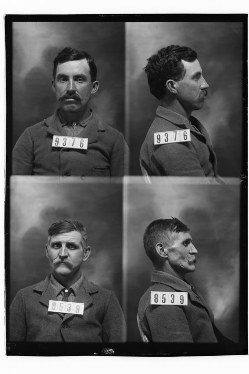 James P. Moffets and Chas. Wilson, Prisoners 9376 and 8539, Kansas State Penitentiary - Page