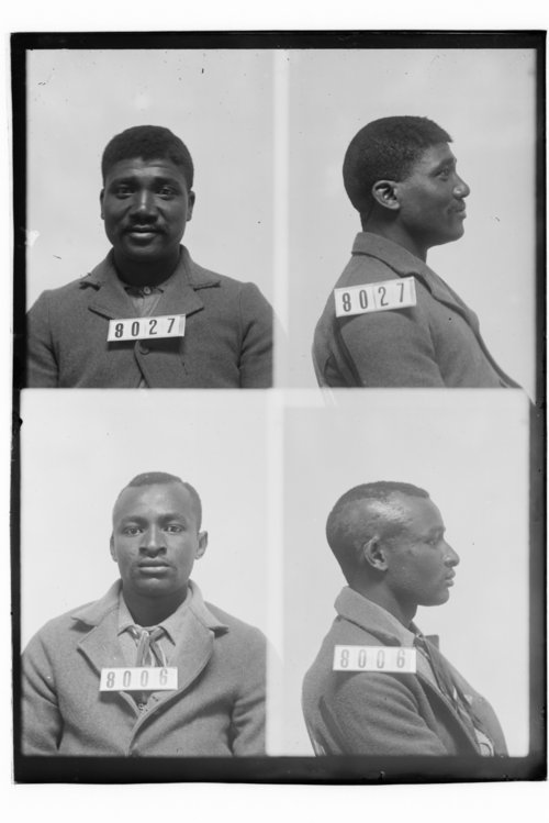Bud Brown and Edward Bryant, prisoners 8027 and 8006 - Page