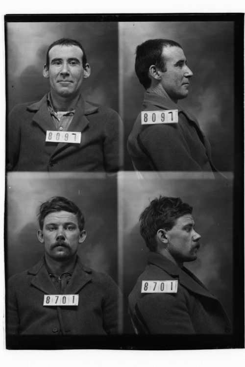 James Mitchell and Emerson Baer, Prisoners 8097 and 8701, Kansas State Penitentiary - Page