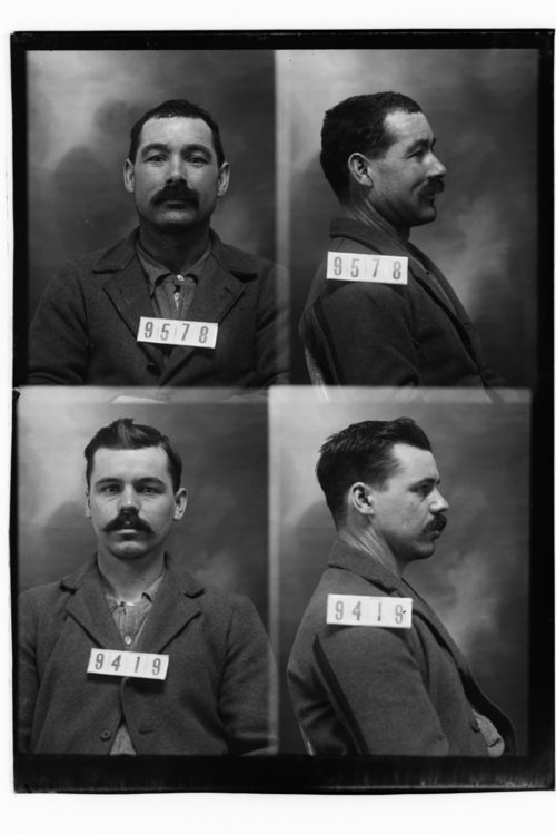 Geo. M. Durbin and Clinton Redden, Prisoners 9578 and 9419, Kansas State Penitentiary - Page
