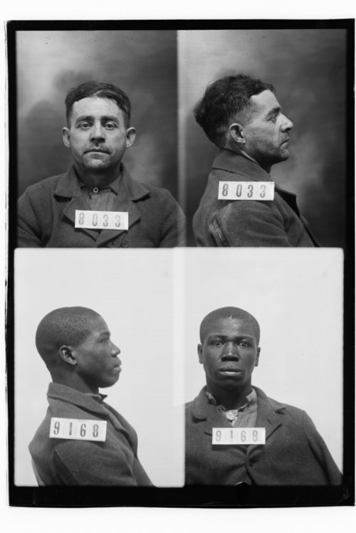 Chas H. Collins and Isaac Owens, Prisoners 8033 and 9168, Kansas State Penitentiary - Page
