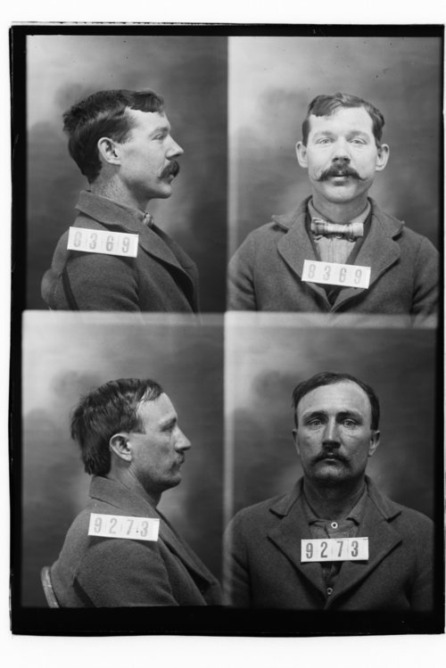 Thomas Gill and Tom McCarty, Prisoners 8369 and 9273, Kansas State Penitentiary - Page