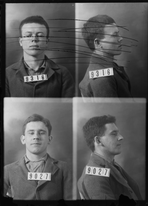 Homer McGrath, Prisoner 9027, Kansas State Penitentiary - Page