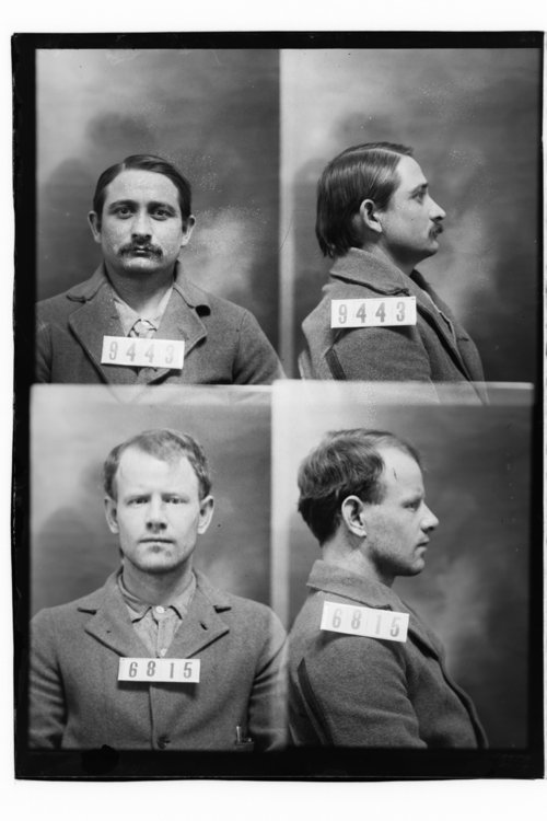 Edward Hopple and Joseph Walker, Prisoners 9443 and 6815, Kansas State Penitentiary - Page