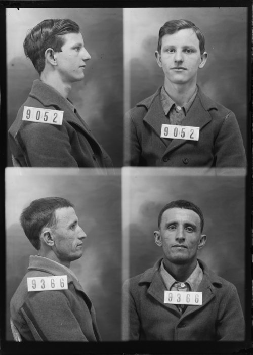 William Carey and Charles Brown, Prisoners 9052 and 9366, Kansas State Penitentiary - Page