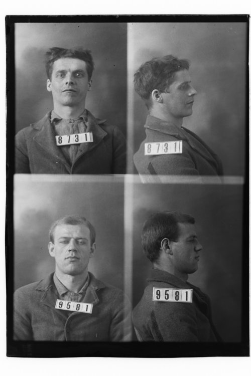 George Adams and H. L. Weber, Prisoners 8731 and 9581, Kansas State Penitentiary - Page