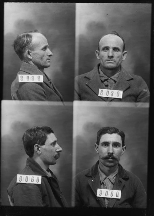 Oscar Swift and Bert Neeley, prisoners 8039 and 9060 - Page