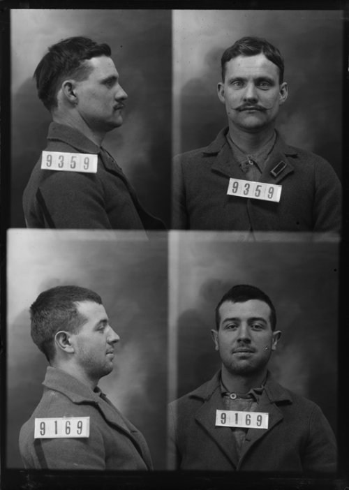 Geo. Canthon and Frank Flynn, Prisoners 9359 and 9169, Kansas State Penitentiary - Page