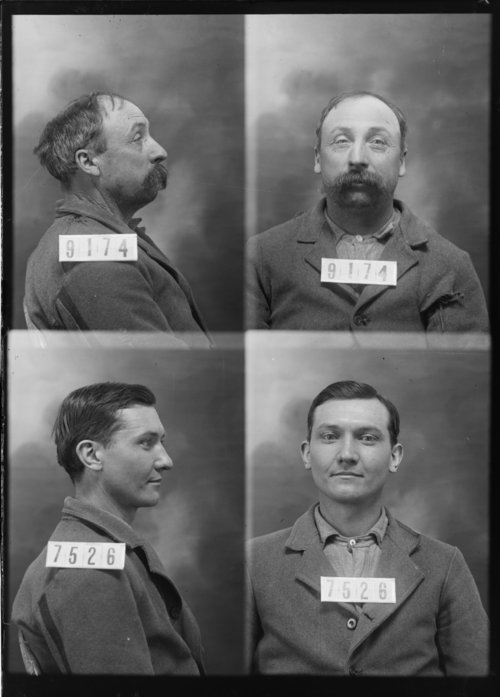 Henry Pruden and Ed Anderson, Prisoners 9174 and 7526, Kansas State Penitentiary - Page
