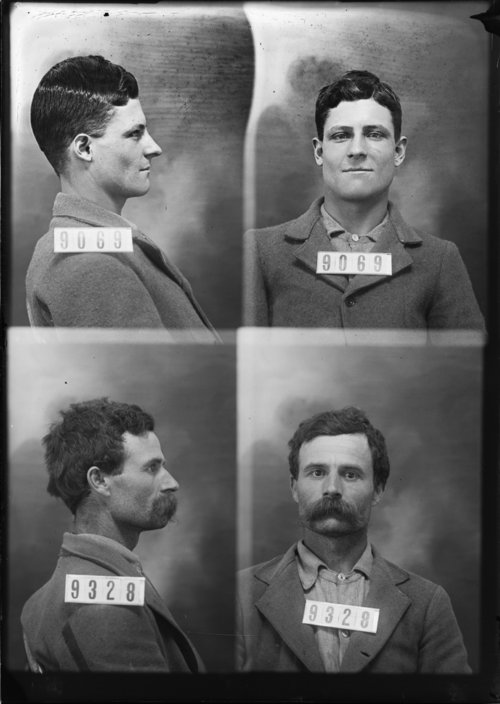 Frederick C. Heron and Elmer Marlnee, Prisoners 9069 and 9328, Kansas State Penitentiary - Page