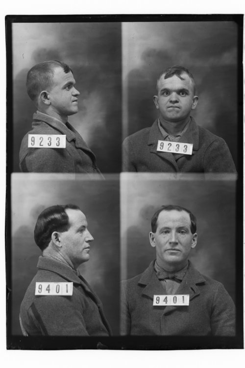 Howard L. LaMont and Roy L. Roberts, Prisoners 9233 and 9401, Kansas State Penitentiary - Page