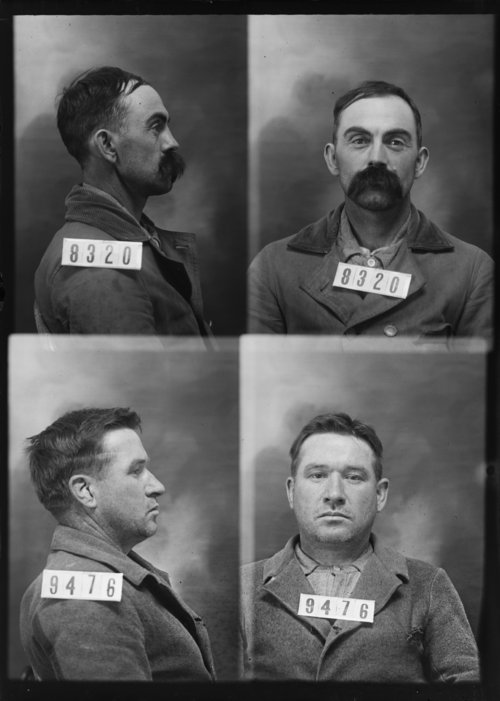 James Killingsworth and John Naverth, Prisoners 8320 and 9476, Kansas State Penitentiary - Page