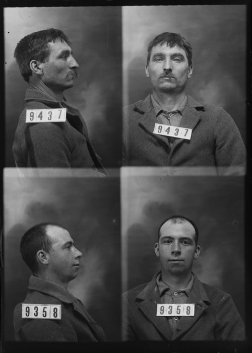 W. C. Ollmandinger and Henry Kibbe, Prisoners 9437 and 9358, Kansas State Penitentiary - Page