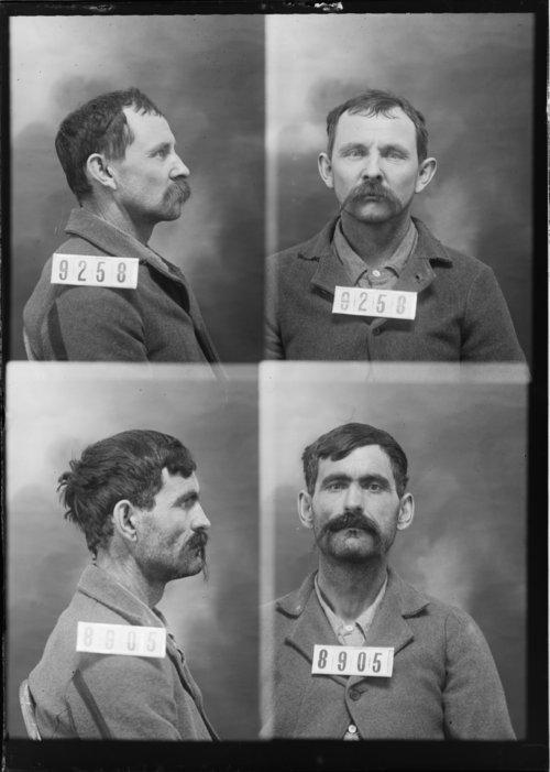 Edward Mahaffey and John Moore, Prisoners 9258 and 8905, Kansas State Penitentiary - Page