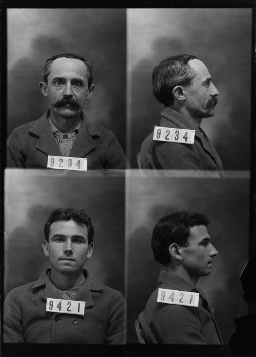 John Wm. Roley and Bert Wiley, Prisoners 9234 and 9421, Kansas State Penitentiary - Page