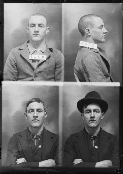 Chas. Whitton, Prisoner 9650, Kansas State Penitentiary - Page