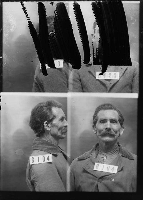 Benjamin F. McLean, Prisoner 6104, Kansas State Penitentiary - Page
