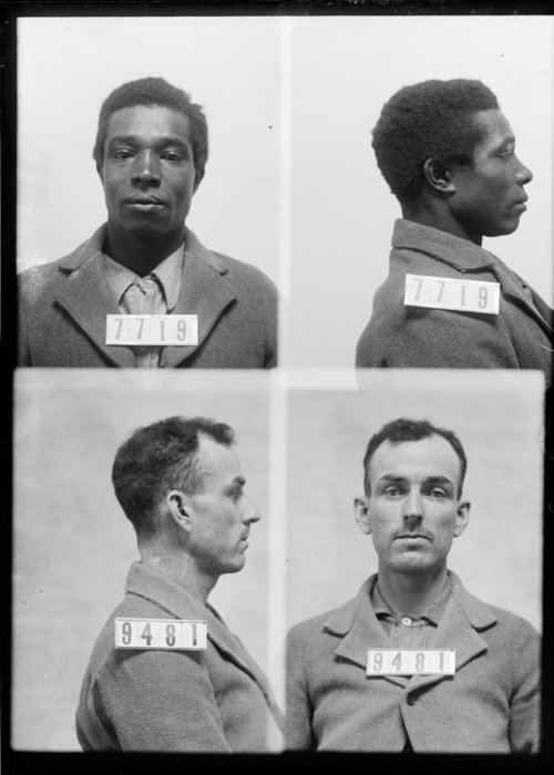 Randolph Copeland and Wesley Hobbs, Prisoners 7719 and 9481, Kansas State Penitentiary - Page