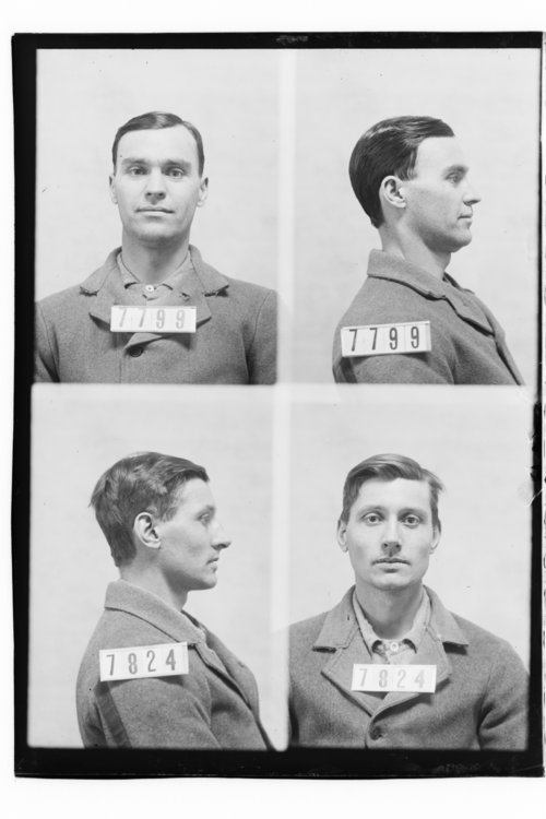 Oliver P. Jewell and John A. Kimmerl, Prisoners 7799 and 7824, Kansas State Penitentiary - Page