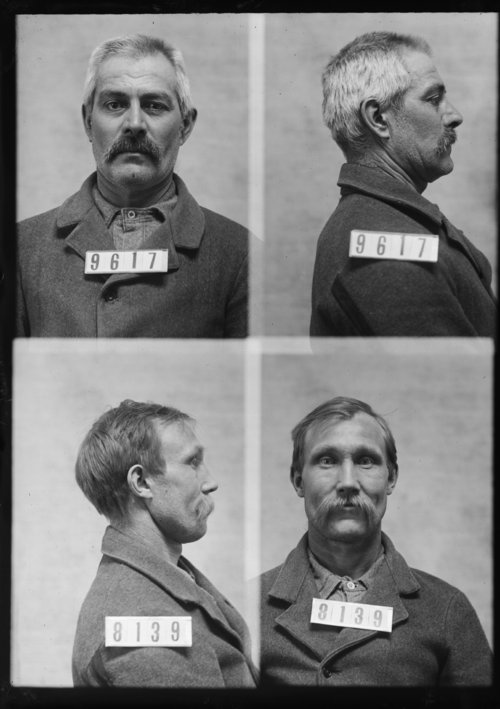 Geo. A. Dimon and Alexander Hamilton, Prisoners 9617 and 8139, Kansas State Penitentiary - Page