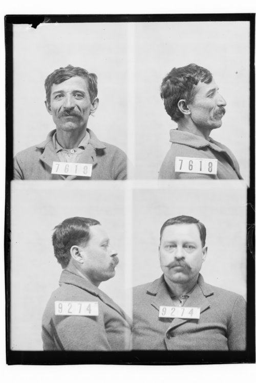 Osso Terresso and Thomas Bowen, Prisoners 7618 and 9274, Kansas State Penitentiary - Page