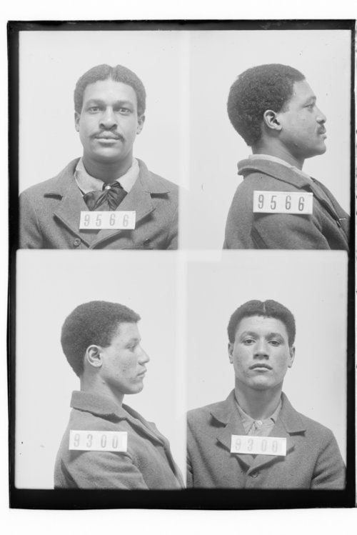 Fred Clark and William Mosley, Prisoners 9566 and 9300, Kansas State Penitentiary - Page
