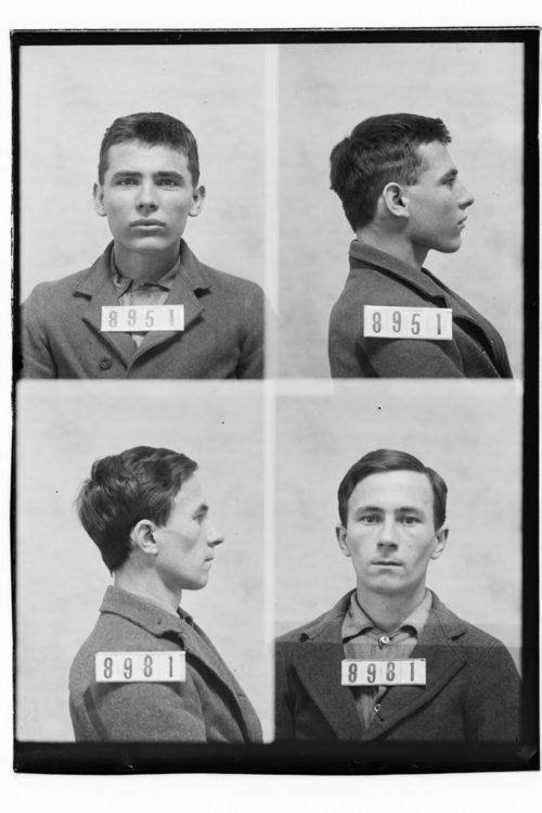 John Harrison and Harry Cunningham, Prisoners 8951 and 8981, Kansas State Penitentiary - Page