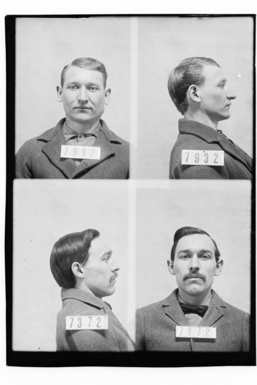Jack Raymond and Zeb Ward, Prisoners 7932 and 7372, Kansas State Penitentiary - Page