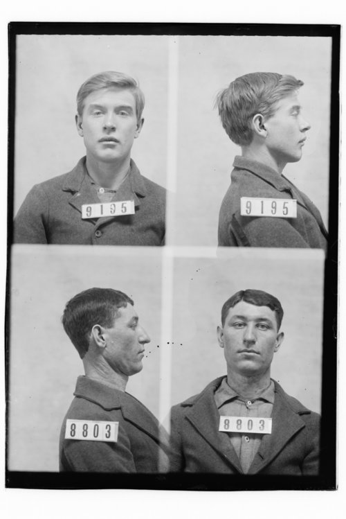 Wm. Nelson Foster and Wm. Foster, Prisoners 9195 and 8803, Kansas State Penitentiary - Page