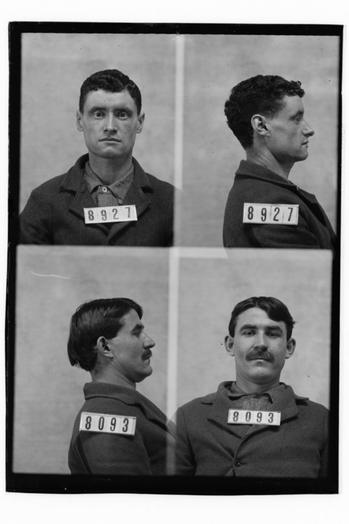 Henry Lewis and Joseph Blankenship, Prisoners 8927 and 8093, Kansas State Penitentiary - Page