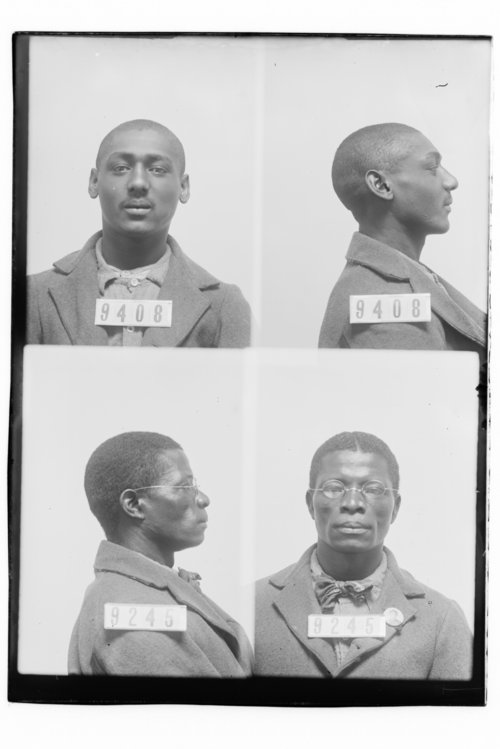 Walter Brown and Robert Breakbill, Prisoners 9408 and 9245, Kansas State Penitentiary - Page
