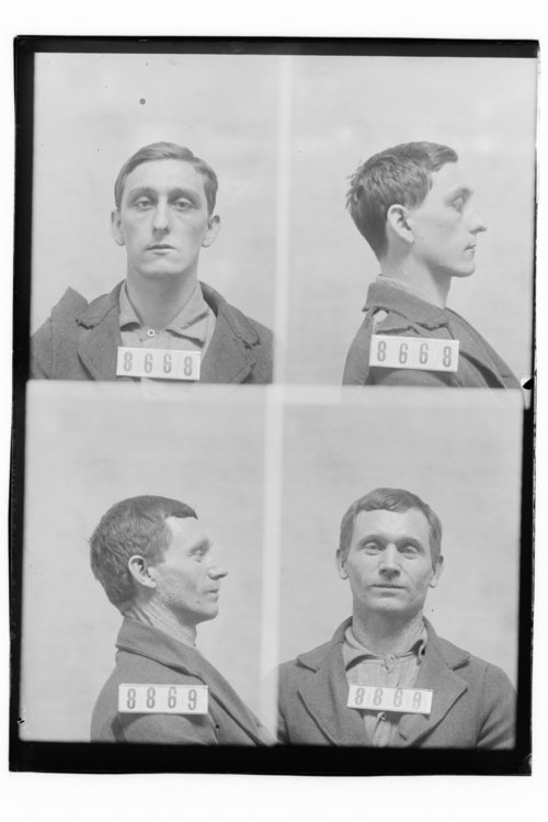 Joe Griffin and John Gilbert, prisoners 8668 and 8869 - Page