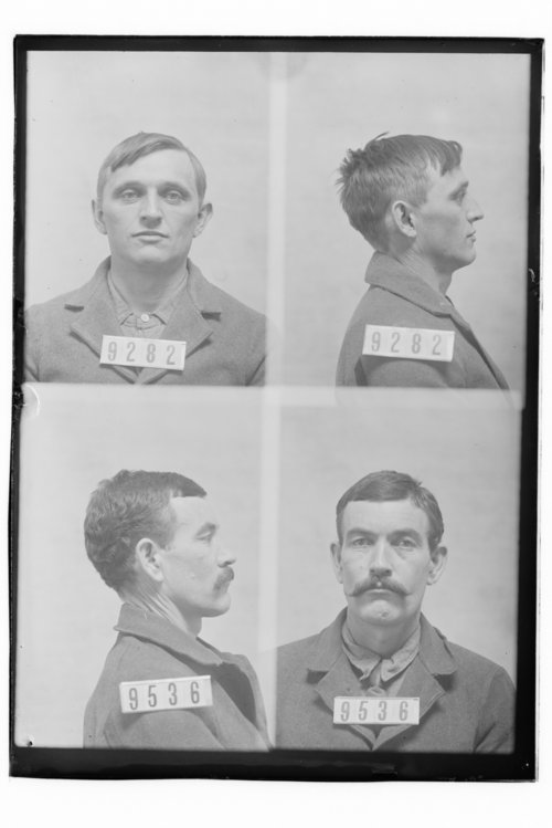 Charles Parrent and Con Ryan, Prisoners 9282 and 9536, Kansas State Penitentiary - Page