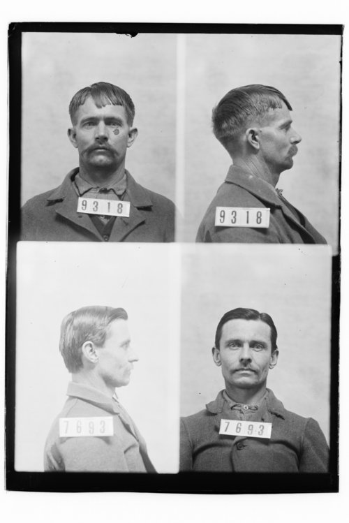 Henry Torrey and Harry Kurfas, Prisoners 9318 and 7693, Kansas State Penitentiary - Page