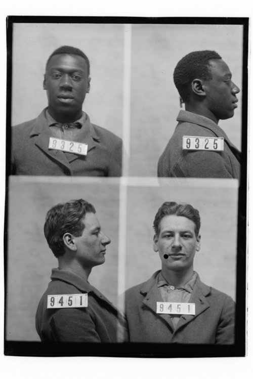 Andrew Turner and George Fullenn, Prisoners 9325 and 9451, Kansas State Penitentiary - Page