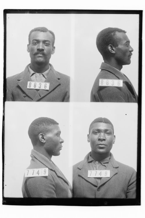 Joe Coats and James E. Williams, Prisoners 8836 and 7749, Kansas State Penitentiary - Page