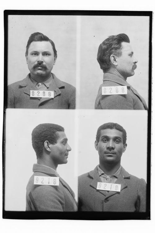 C. D. Harris and George Banks, Prisoners 8288 and 9218, Kansas State Penitentiary - Page