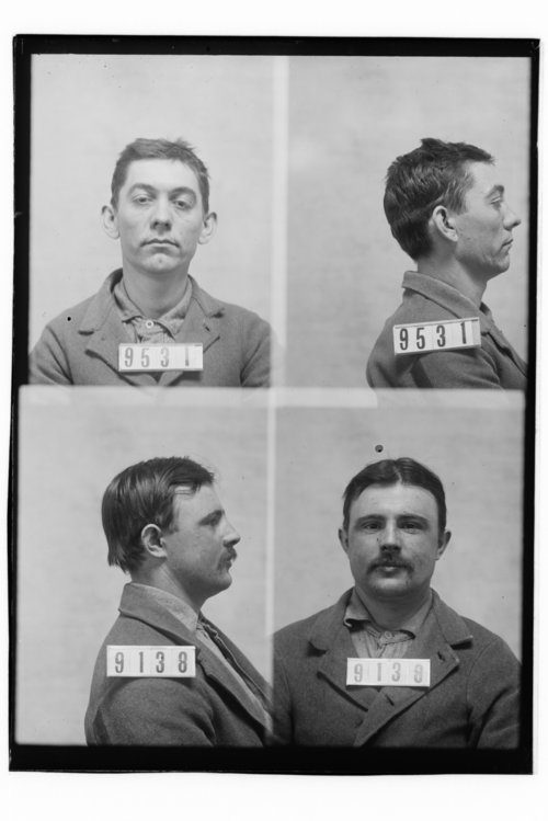 R. W. Joyce and John Johnston, Prisoners 9531 and 9138, Kansas State Penitentiary - Page