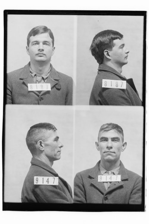 Rollan Barnes and Henry Richardson, Prisoners 8187 and 9147, Kansas State Penitentiary - Page