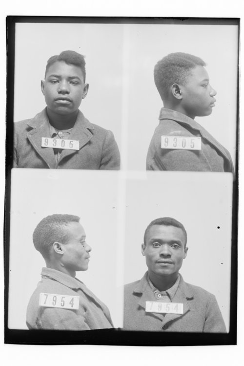 Ollie Boyd and Ralph Clark, Prisoners 9305 and 7954, Kansas State Penitentiary - Page