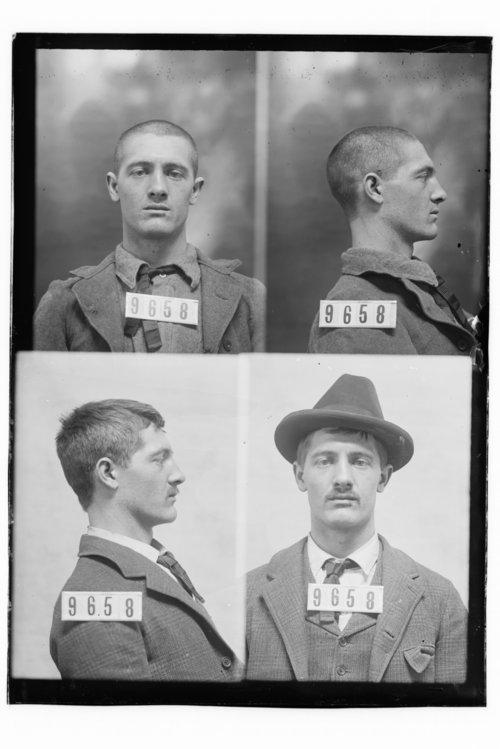 M. S. Hammon, Prisoner 9658, Kansas State Penitentiary - Page