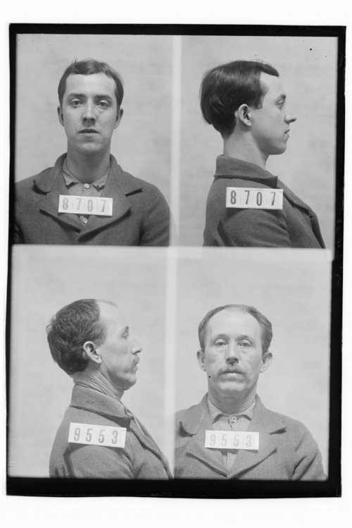 Jack Munroe and Chas. Leftwich, Prisoners 8707 and 9553, Kansas State Penitentiary - Page