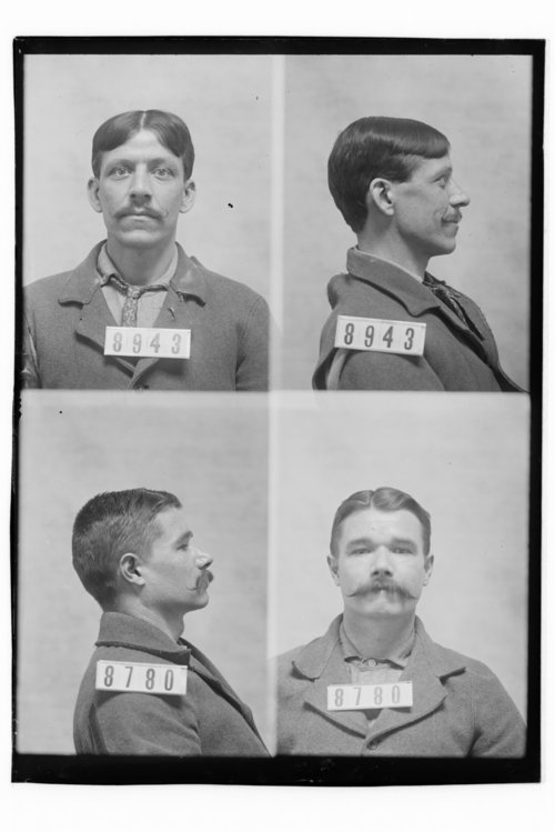 Frederick Wolf and Chas McAlister, Prisoners 8943 and 8780, Kansas State Penitentiary - Page