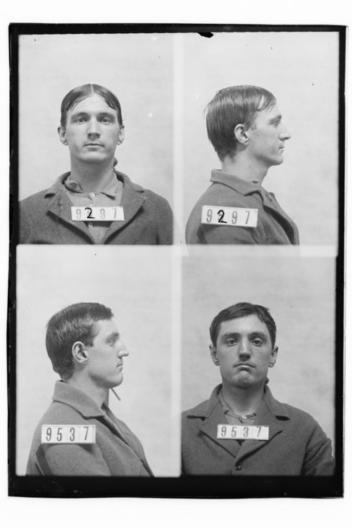 John McGregor and Edwin A. Griffitts, Prisoners 9297 and 9537, Kansas State Penitentiary - Page