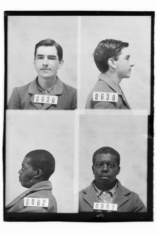 Frank Redfield and Clarence Bailey, Prisoners 8630 and 8802, Kansas State Penitentiary - Page