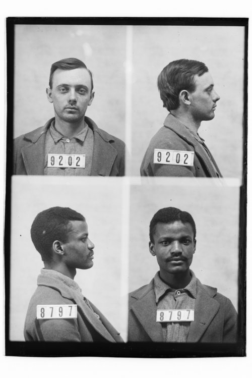 Charles Wixson and W. M. Morgan, Prisoners 9202 and 8797, Kansas State Penitentiary - Page