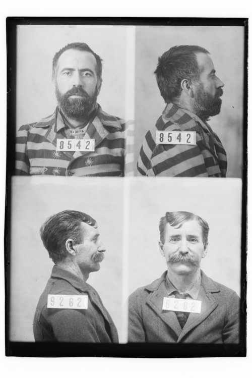 Mulligan McAnulty and John McBride, Prisoners 8542 and 9262, Kansas State Penitentiary - Page