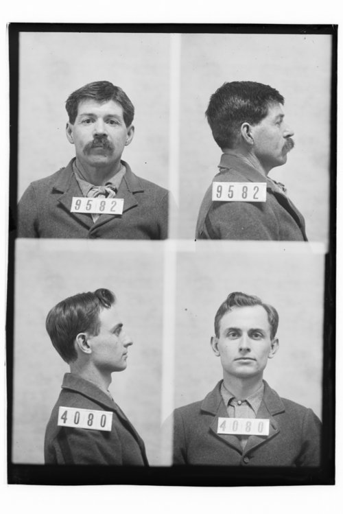 C. B. Calhoun and Willie Sell, Prisoners 9582 and 4080, Kansas State Penitentiary - Page