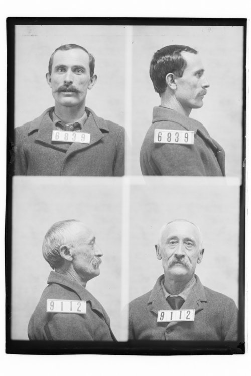 Ellsworth Hacker and E. C. Clark, prisoners 6839 and 9112 - Page