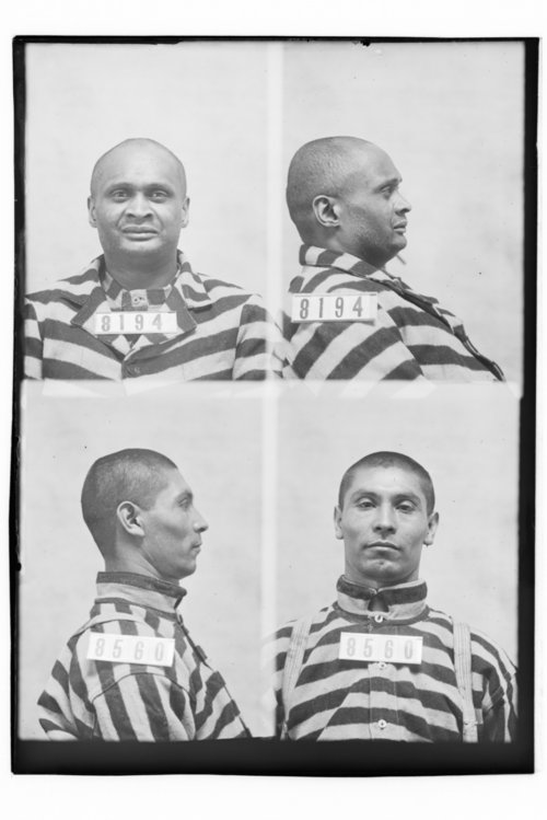 Ralph Hill and Manuel Casasas, Prisoners 8194 and 8560, Kansas State Penitentiary - Page